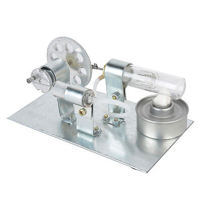 Mini Stirling Engine Motor Model Hot Air Steam Powered Toy Physics Experiment