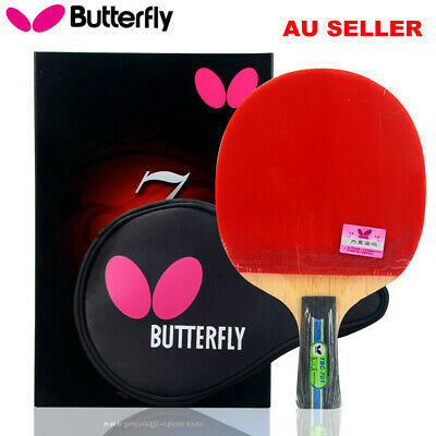 Butterfly TBC701 Penhold Short Table Tennis Ping Pong Racket Paddle Bat Blade