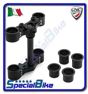 Ducati Hypermotard 821 Sp 2013 > 2015 Set Piastre Sterzo Cnc Racing Triplo Clamp