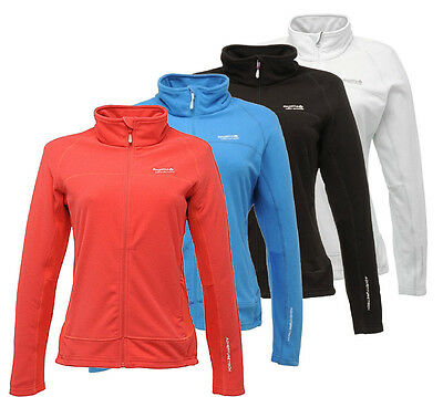 Regatta Amina Womens Lightweight Grid Effect Zip Through Fleece Jacket
