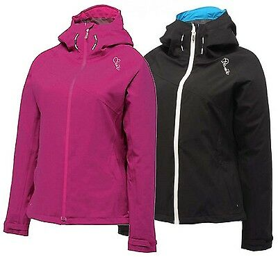 Dare 2b Pavillion Womens Waterproof Breathable Water Repellent Jacket