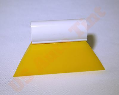 "Window Film Tools 3 1/2"" Yellow SoftTurbo Squeegee window tinting tool"