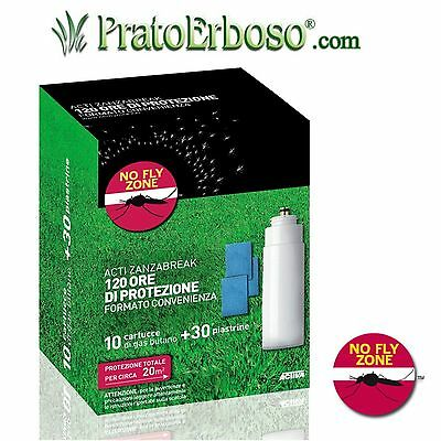 Acti Zanza Break Activa- Ricarica 120 ore insecticide mosquitoes insects