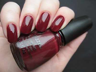 CHINA GLAZE Nail Lacquer - Lacquered Effect (One More Merlot) 14ml OVP