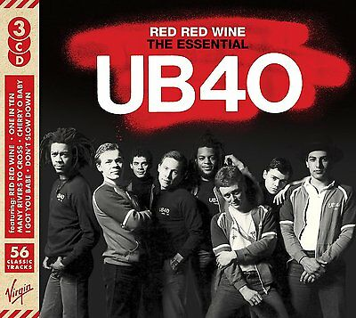 UB40 RED RED WINE THE ESSENTIAL 3CD SET (September 23rd 2016)