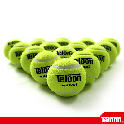 TELOON - 12 Pcs 801 Teloon Mascot Tennis Balls for Tranning and Practice Tennis
