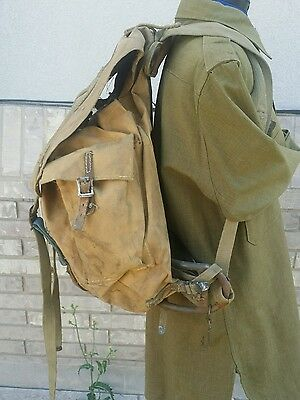 Vintage WW2 US ARMY or BSA BACK PACK WITH STEEL FRAME Rucksack