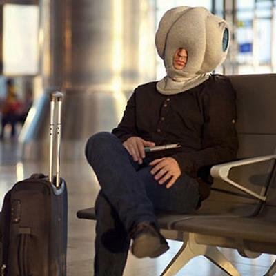New Ostrich Sleeping Sleep Nap Napping Travel Head Neck Rest Pillow Cushion Hat