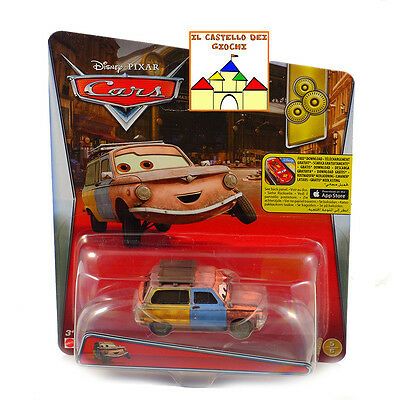 CARS Personaggio JASON HUBKAP in Metallo scala 1:55 by Mattel Disney