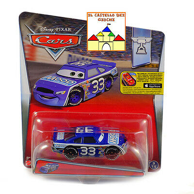 CARS Personaggio CHUCK ARMSTRONG in Metallo scala 1:55 by Mattel Disney