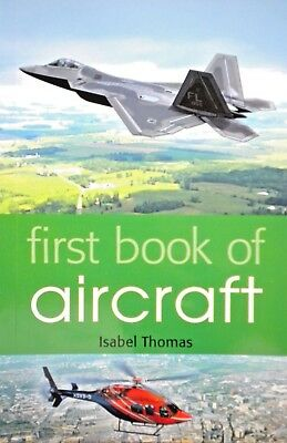 First Book of Aircraft | Learn About Aeroplanes,Helicopters,Jets| New| Free Post