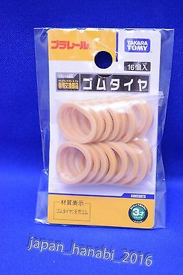 Takara Tomy JAPAN PLA RAIL Rubber Tire Repair Parts NEW natural Rubber