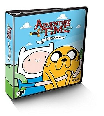 Adventure Time Trading Cards Binder. Brand New