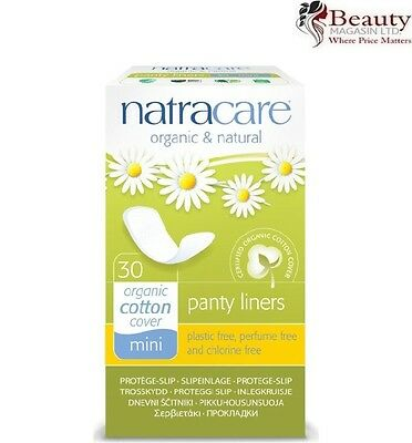 Natracare Organic Mini Panty Liner - Pack of 30