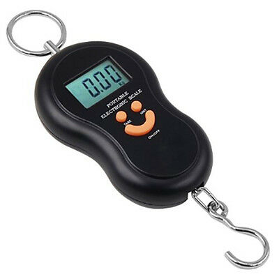 40kg 10g LCD Digital Light Fish Hanging Luggage Weight Electronic Hook Scale