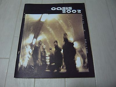 "OASIS pamphlet ""oasis 2002"" photobook"