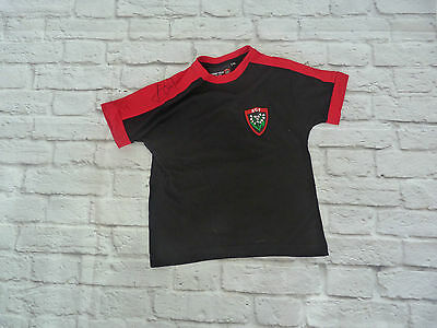 T shirt RCT Racing Club de Toulon signed FREDERIC MICHALAK ultras rugby