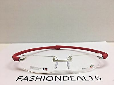 New Authentic Tag Heuer Reflex Optical Frame Red Titanium TH5211 003 Eyeglasses