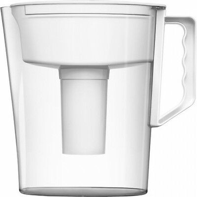 Brita 5 Cup Slim BPA Free Water Pitcher With 1 Filter White FREE SHIPPING NO TAX