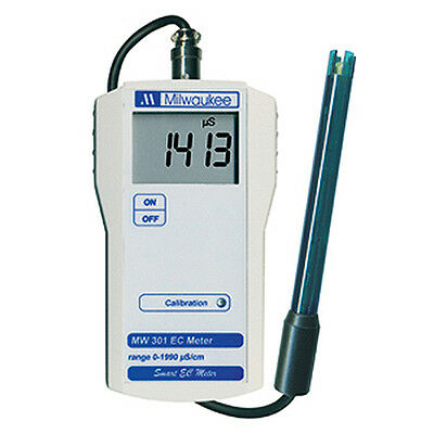 Milwaukee MW301 Soil Conductivity/EC Portable Meter/Tester