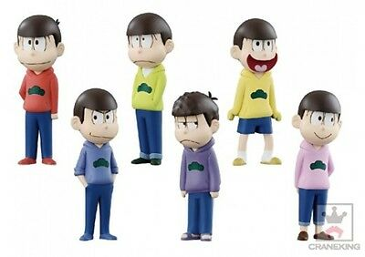 New Osomatsu's World Collectible figure set of 6 import Japan free shipping