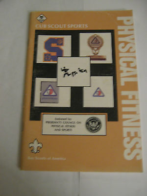 Boy Scouts of America BSA - Cub Scout Sports Physical Fitness Manual 1985