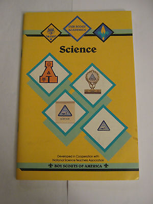 Boy Scouts of America BSA - Cub Scout Academics Science 1992