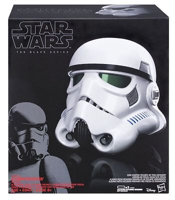 Hasbro IMPERIAL STORMTROOPER ELECTRONIC VOICE-CHANGER HELMET Star Wars Rogue One