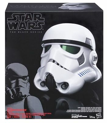 Star Wars IMPERIAL STORMTROOPER ELECTRONIC VOICE-CHANGER HELMET Fast Shipping