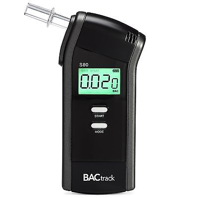 BACtrack S80 Professional Breathalyzer Portable Breath Alcohol Tester