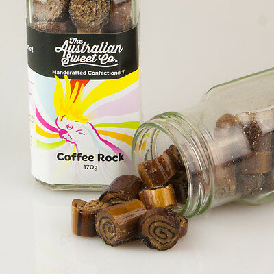 Coffee Rock Candy boiled Bulk Lollies Wedding Favours Party Christmas