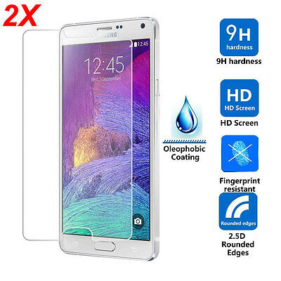 2 PACK x Tempered Glass Film Screen Protector for Samsung Galaxy s5 s3 s4 s6 v6