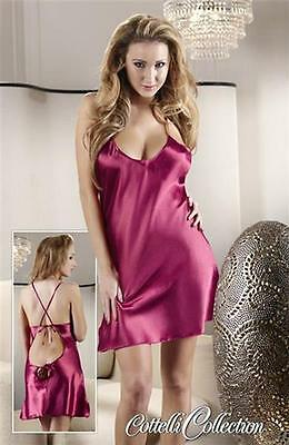 Satin Neglige rot S
