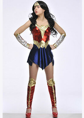 Adult Batman v Superman Wonder Woman Costume