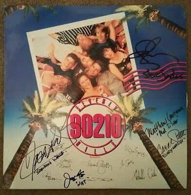 Beverly Hills 90210 Cast Signed Autographed  Laser Disc - w/COA   Priestley +++