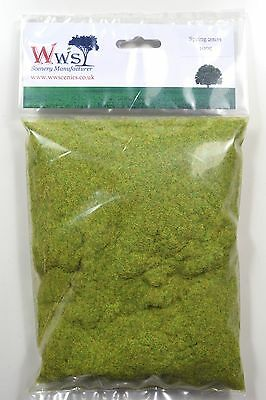 WWS 2mm Spring Mix Static Grass 100g Railway Scenery Landscapes Peco