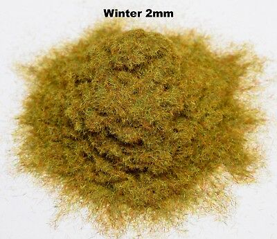 WWS Scorched 4mm Mix Model Basing Static Grass 10g G,O,HO//OO,TT,N.Z Wargames