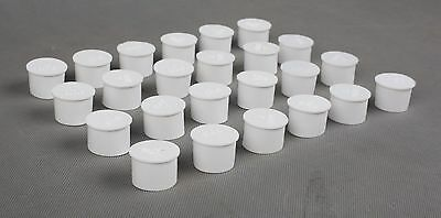 Pool Fence Hole Cover Deck Patio Ground Caps White Color