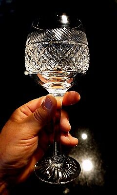 Beautiful Tudor Holbein Crystal Large Red Wine Glass