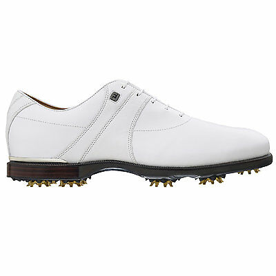 Footjoy Icon Black Golf shoes 52087 (White/Ivory) - Classic Craftsmanship