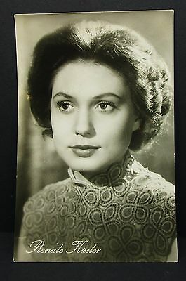 Renate Küster - Photo Postcard - AK - Foto Autogramm Karte (Lot G-4741