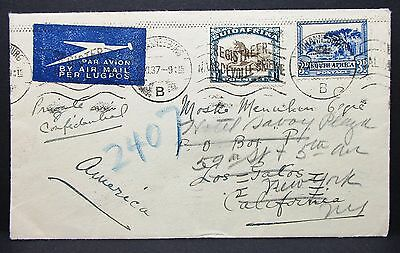 Suidafrika South Arfrica Registered Cover Hotel Savoy Luftpost Brief (I-5798