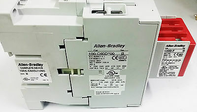 ALLEN BRADLEY 100S-C60DJ14BC Safety Contactor. 60A, 24VDC. SERIES B (0087F)