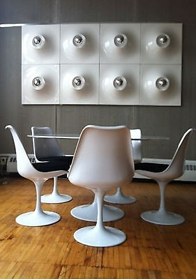 """Space Panels Space Age Modern Lamp By """"superieur""""  Very Rare - 12 Panels"""