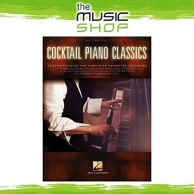 New Cocktail Piano Classics Music Book for Easy Piano