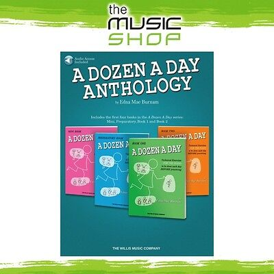 New A Dozen a Day: Anthology Piano Music Book with Online Audio Access