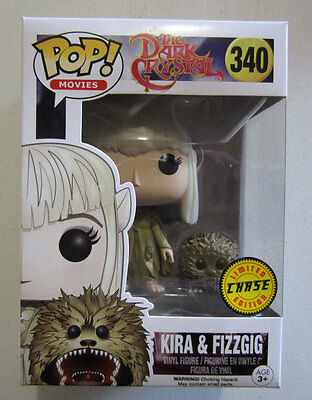 Kira & Fizzgig CHASE - Funko POP! Vinyl Movies - 340 - The Dark Crystal New Pop