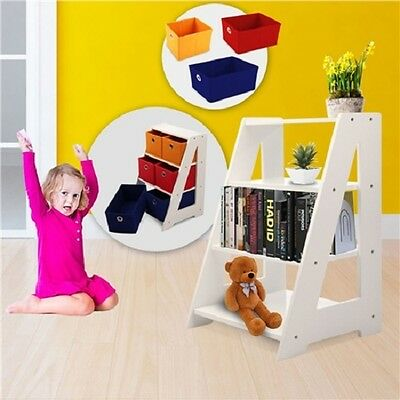 NEW Sturdy 6 Drawer Kids Toy Furniture Organiser / Storage Unit, Fabric Shelving