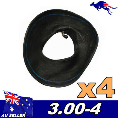 4Pcs 3.00-4 inch Inner Tyre Tube 260x85 for 47cc 49cc Min ATV Pocket Bike Quad