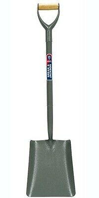 Spear & Jackson Square Mouth No.2 Tubular Steel Shovel with MYD-Handle